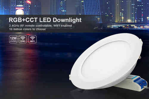 Downlight  RGB+ CCT  Indoor   12  Watt